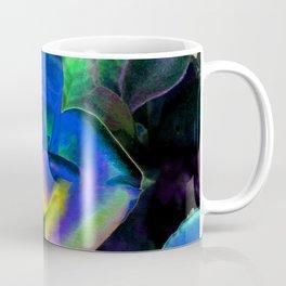 Blue Colorful Rose Coffee Mug