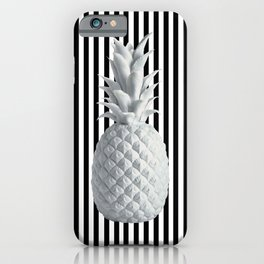 Black and White Anana | #society6 | Pineapple iPhone Case