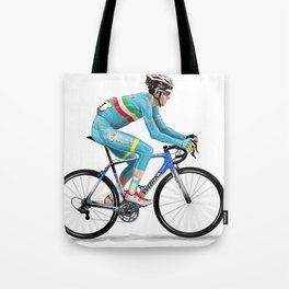 Vincenzo Nibali 2 Tote Bag