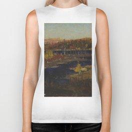 Tom Thomson Autumn Evening, Burnt Land 1912 or 1913 Canadian Landscape Artist Biker Tank