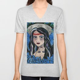 Queen Mab Weaver of Dreams Unisex V-Neck
