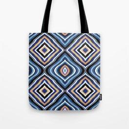 Blue Moroccan Tote Bag