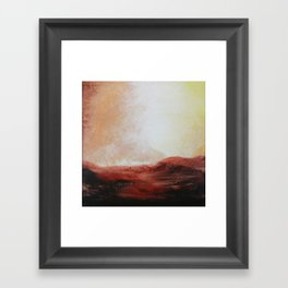 The Bluff Framed Art Print
