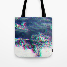 Oceanic Glitches - Pale Waves Tote Bag