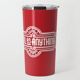 Lentil as Anything - Red Travel Mug