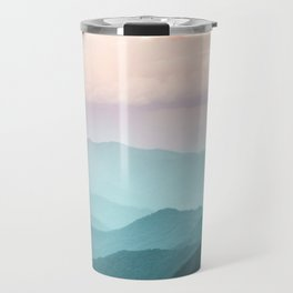 Smoky Mountain National Park Sunset Layers II - Nature Photography Travel Mug