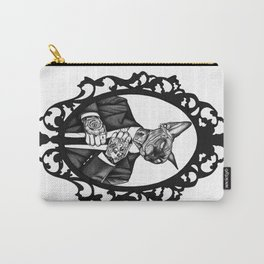 Hipster Sphynx Carry-All Pouch