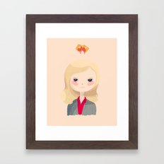 Vote Knope Framed Art Print