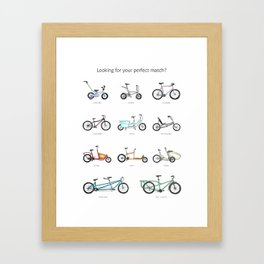 Looking for your perfect match? Framed Art Print