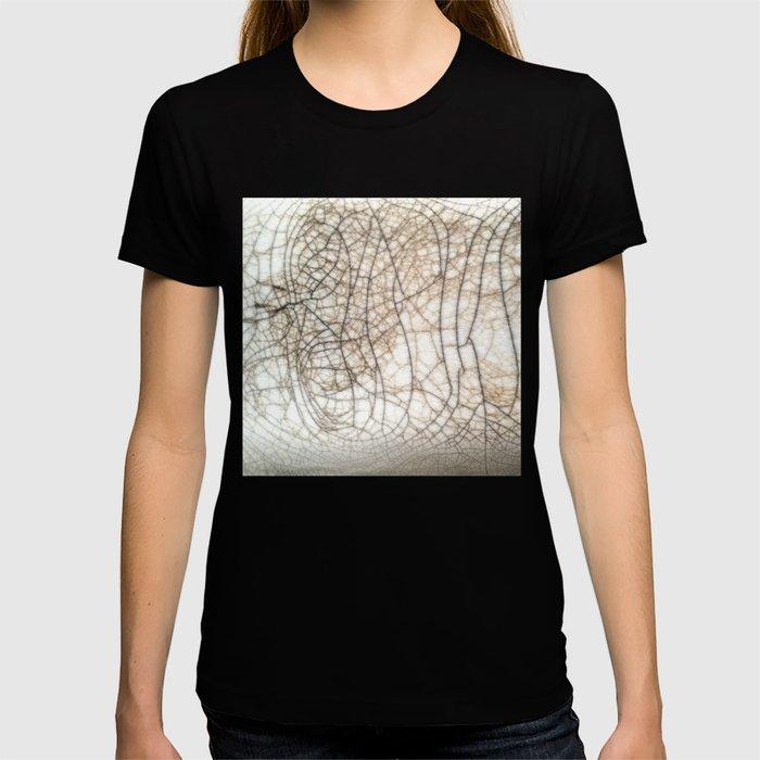 Raku crackles T-shirt