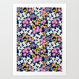 Ditsy Floral Art Print