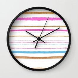 Betty's Beach Towel Wall Clock