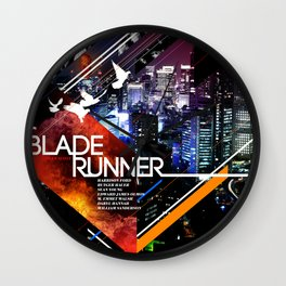 Visions of the Future :: Blade Runner Wall Clock