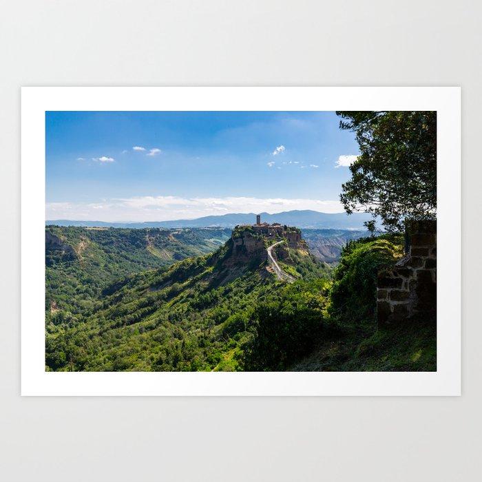 Civita di Bagnoregio - Italy Art Print