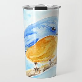 The Chubby Bluebird Travel Mug