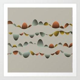 Bubble Music 1 Art Print