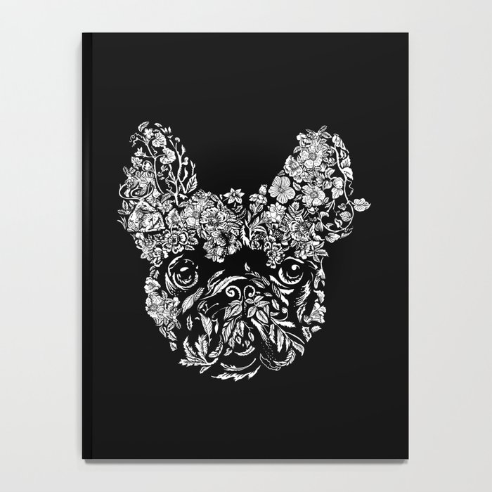 Botanical frenchie Notebook