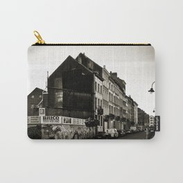 Vintage Poetic City Carry-All Pouch