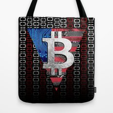 bitcoin USA  Tote Bag