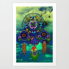 Dream Catching Art Print
