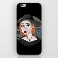 ginger iPhone & iPod Skins featuring Ginger by Julia Kolos