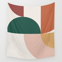 Abstract Geometric 12 Wall Tapestry
