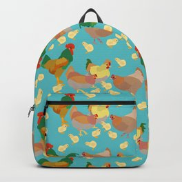 Hens and Chicks Backpack