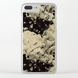 Abstract B13 Clear iPhone Case