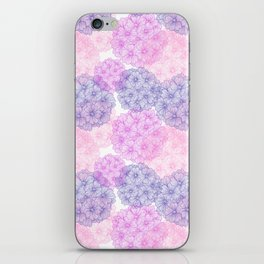 Abstract Verbena Flowers iPhone Skin