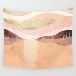 Desert Morning Wall Tapestry