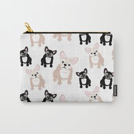 Cute French Bulldog Pattern Carry-All Pouch