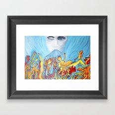 Demonii Framed Art Print