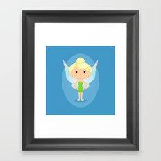 Green Fairy Framed Art Print