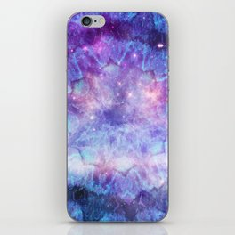 Purple Galaxy - Psychedelic Summer Series by iDeal iPhone Skin