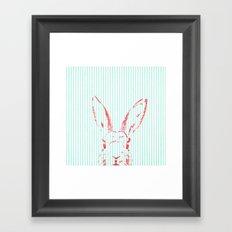 Psycho Bunny Framed Art Print