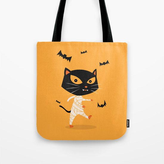 Mummy Cat Tote Bag