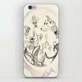 Circle of Objects And  Subjects; Round One Series iPhone Skin