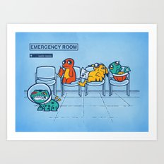 Emergency Room Art Print