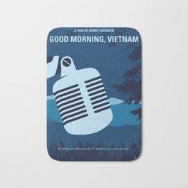 No811 My Good Morning Vietnam minimal movie poster Bath Mat