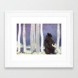 Purple Sunset - Tofino Framed Art Print