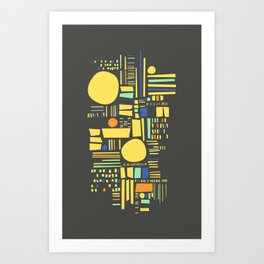 Sunshine Study #6 Art Print