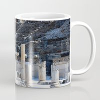 theater Mugs featuring Theater  by Allisa Thome