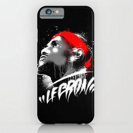 Lebron J iPhone Case