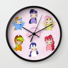 A Boy - Little Pony Wall Clock