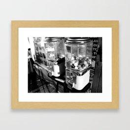 Gumballs Framed Art Print
