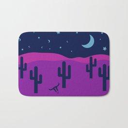 Modern Desert Cactus Scene #desert #cactus Bath Mat