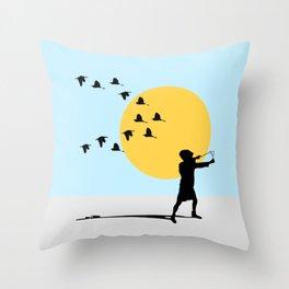 Experience Throw Pillow