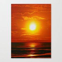 Golden Waters... Canvas Print