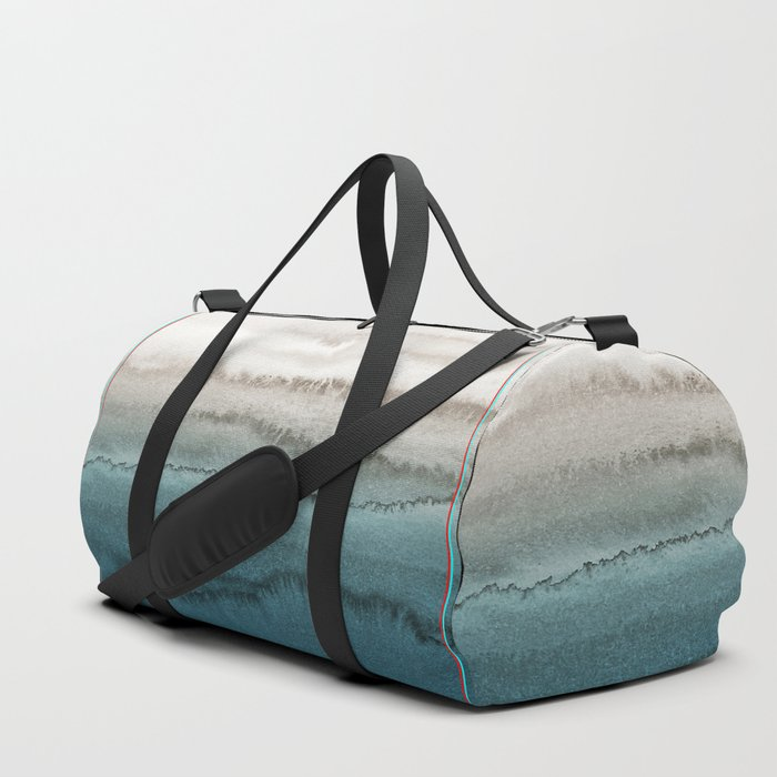 WITHIN THE TIDES - CRASHING WAVES TEAL Duffle Bag