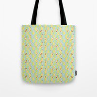 pixel art Tote Bags featuring Pixel by Colocolo Design | www.colocolodesign.de